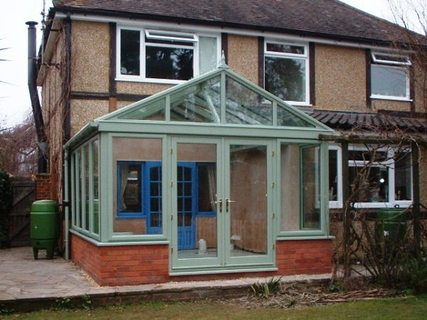 Finished Conservatory